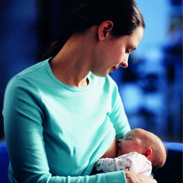 Como Oferecer o Seio Materno